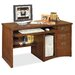 <strong>Mission Pasadena Deluxe Computer Desk</strong> by kathy ireland Home by Martin Furniture