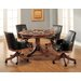 Park View Checkers and Backgammon  Dining Table