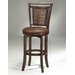 "Norwood 30.5"" Swivel Bar Stool in Cherry"