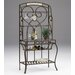 Hillsdale Furniture Brookside Stone Baker's Rack