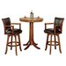Hillsdale Furniture Park View 3 Piece Pub Table Set
