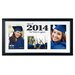 <strong>2014 Horizontal 3-Opening Matted Picture Frame</strong> by Malden