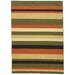 <strong>Infinity Home</strong> Kings Court Green Uri Stripes Rug