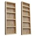 <strong>WG Wood Products</strong> 2 Piece On the Wall Spice Rack II Set
