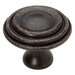 Decorative Ringed Cabinet Knob