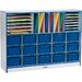 Jonti-Craft Rainbow Accents 31 Compartment Cubby