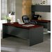 "HON 438000 Series 72"" W Double Pedestal Executive Desk"