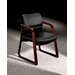 2900 Series Guest Chair with Wood Sled Base