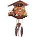Cuckoo Clock with Moving Dancers