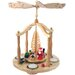 Tiny Santa and Children X-Mas Eve Rotating Pyramid