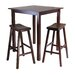 Winsome Parkland 3 Piece Pub Table Set