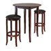 Fiona Round 3 Piece High Pub Table Set