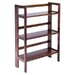 "<strong>Basics Folding 38.5"" Bookcase</strong> by Winsome"