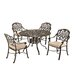 Home Styles Floral Blossom 5 Piece Dining Set with Cushions