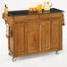 <strong>Home Styles</strong> Create-a-Cart Kitchen Cart with Granite Top