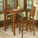 <strong>Arts and Crafts Pub Table Set</strong> by Home Styles