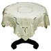 <strong>Embroidered Butterflies and Flower Cutwork Table Topper</strong> by Xia Home Fashions