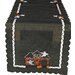 Haunted House Embroidered Cutwork Table Runner