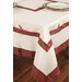<strong>Xia Home Fashions</strong> Tartan Ribbon Table Cloth