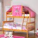 <strong>Donco Kids</strong> Donco Kids Twin Over Full Mission Bunk Bed with Tent Kit