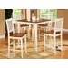 <strong>Vernon 5 Piece Counter Height Dining Set</strong> by Wooden Importers