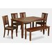 <strong>Wooden Importers</strong> Dudley 6 Piece Dining Set