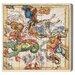 Oliver Gal Aquarius Piscis and Aries Graphic Art on Canvas