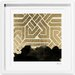 Introspect Deco Framed Painting Print by Oliver Gal