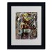 <strong>Ikahl Beckford 'Pearl Jam' Matted Framed Art</strong> by Trademark Fine Art