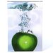 <strong>'Apple Splash II' by Roderick Stevens Photographic Print on Canvas</strong> by Trademark Fine Art