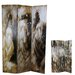 "<strong>71"" x 48"" Lady 3 Panel Room Divider</strong> by Entrada"