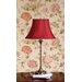 """Laura Ashley Home Morgan 23.13"""" H Table Lamp with Charlotte Bell Shade"""
