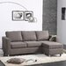 <strong>Dorel Asia</strong> Small Spaces Sectional Sofa