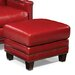 <strong>Palatial Furniture</strong> Prescott Leather Ottoman