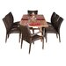 Normandie 9 Piece Dining Set by International Home Miami