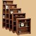 """<strong>Legends Furniture</strong> Scottsdale Oak 84.13"""" Bookcase"""