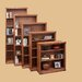 Traditional Bookcase with 3 Adjustable Shelves