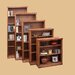 Traditional Bookcase with 1 Fixed and 3 Adjustable Shelves