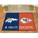 <strong>FANMATS</strong> NFL House Divided Novelty Rug