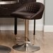 "<strong>Matrix</strong> Nile 23"" Adjustable Height Swivel Bar Stool"