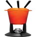 <strong>Cast Iron Traditional Fondue Set</strong> by Le Creuset