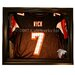 Caseworks International Removable Face Jersey Display in Brown with Removable Face