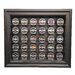<strong>Thirty Puck Display Case in Brown</strong> by Caseworks International