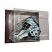 <strong>NHL Goalie Mask Case Up Display Case in Mahogany</strong> by Caseworks International