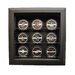 "<strong>Nine Puck ""Case-Up"" Display in Brown</strong> by Caseworks International"
