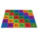 <strong>Row by Row Alphabet Kids Rug</strong> by KidCarpet.com