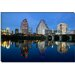 Town Lake, Austin, Texas Canvas Wall Art