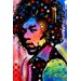 <strong>'Jimi Hendrix IV' by Dean Russo Graphic Art on Canvas</strong> by iCanvasArt