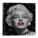 <strong>iCanvasArt</strong> 'Marilyn Monroe' by Ben Heine Graphic Art on Canvas