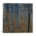 <strong>iCanvasArt</strong> 'Buchenwald 1 (Beech Grove 1)' by Gustav Klimt Painting Print on Canvas